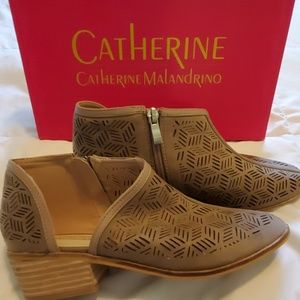 Catherine Malandrino Cut-out Bootie with Open Side